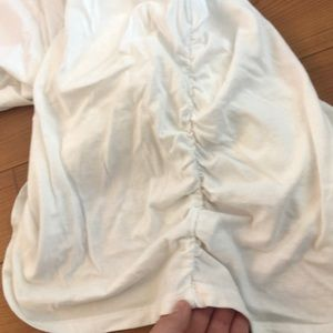 Isabel Maternity by Ingrid & Isabel Tops - Isabel maternity white long sleeve top